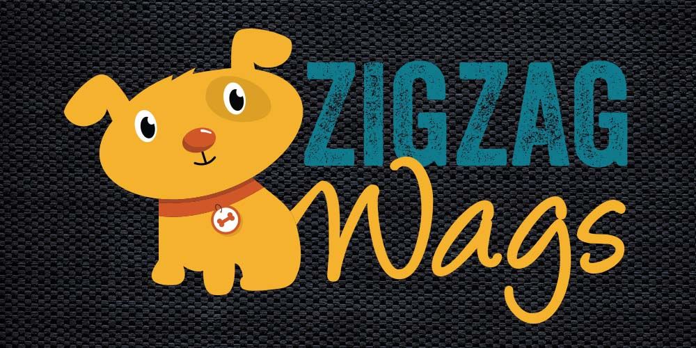 ZigZag Wags Logo Design